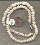 "1 GENUINE PUKA SHELL CHIP 16"" NECKLACE"
